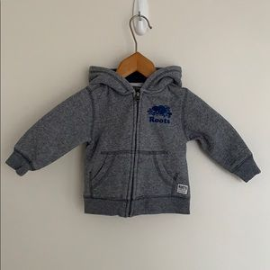 Baby Roots Original Full-Zip Hoody SzL/12-18M